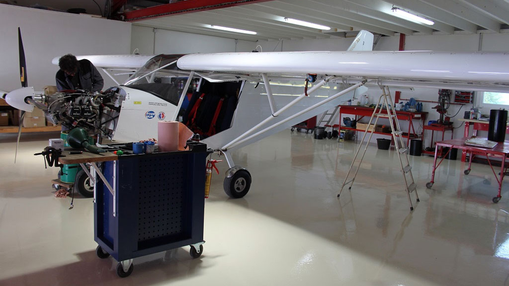 Gray Light Aviation - Atelier aéronautique
